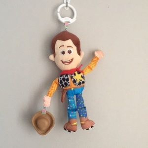 4/30$ baby teether  woody toy story
